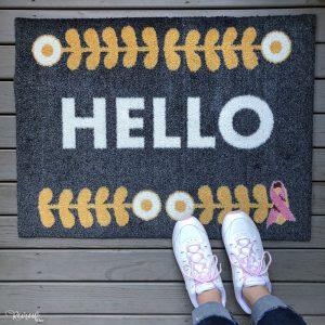 Carpet One Welcome-a-Cure Mat Scandinavian Design