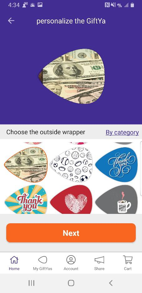 The Review Wire: GiftYa App - Wrapper Choices