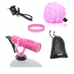 The Review Wire: Breast Cancer Awareness Guide: Movo VXR10 Universal Cardioid Condenser Video Microphone