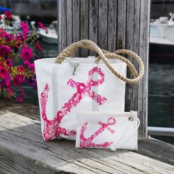 The Review Wire: Breast Cancer Awareness Guide: 2019 Sea Bags Nautical For A Cure Collection 2019