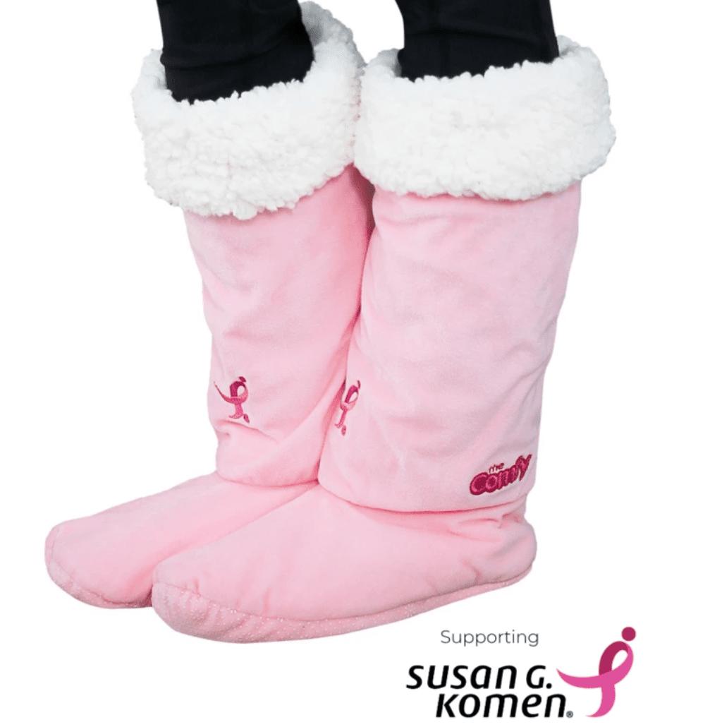 Susan G. Komen Limited Edition Comfy Feet