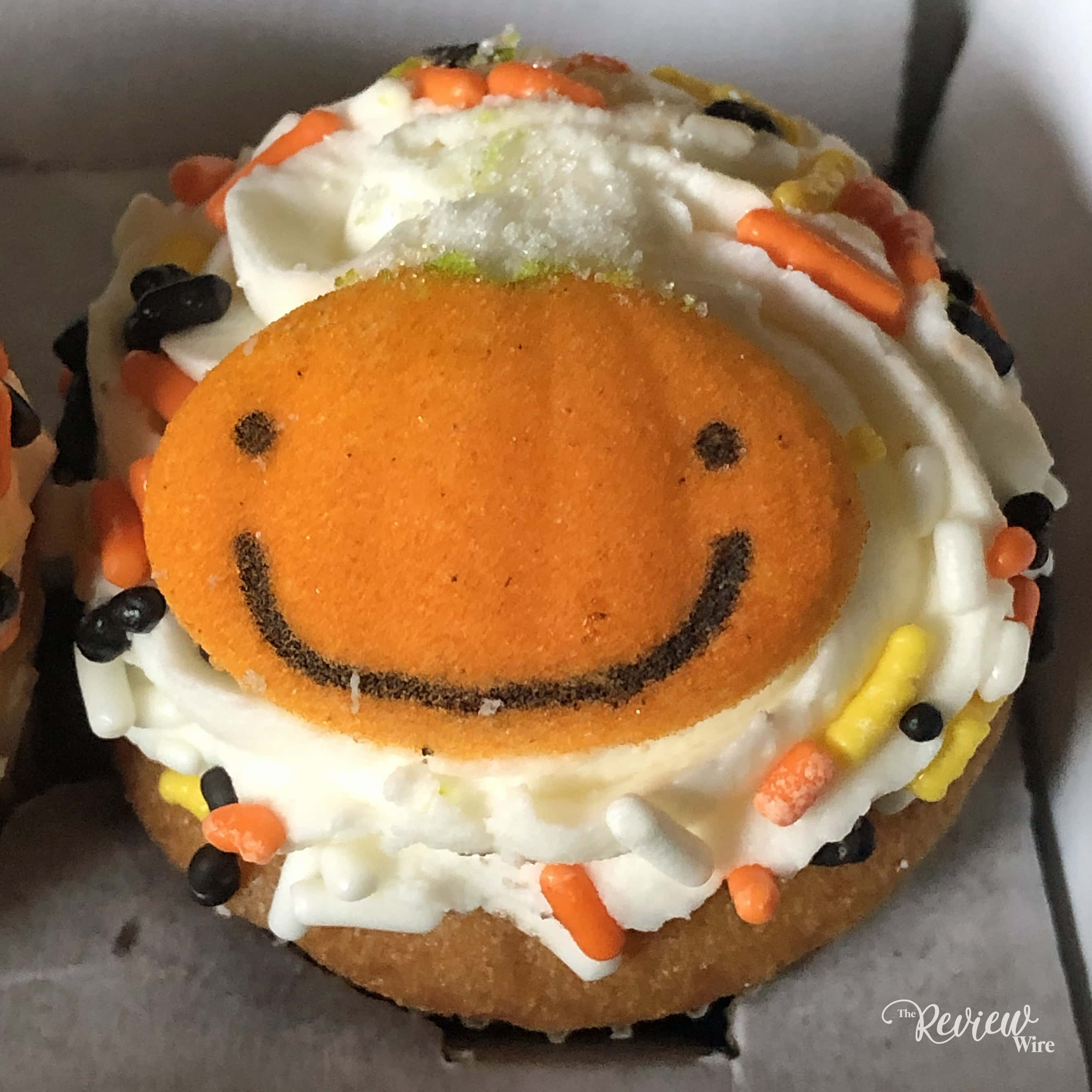 The Review Wire - Bake Me A Wish! Mini Halloween Cupcakes - PumpkinJPG