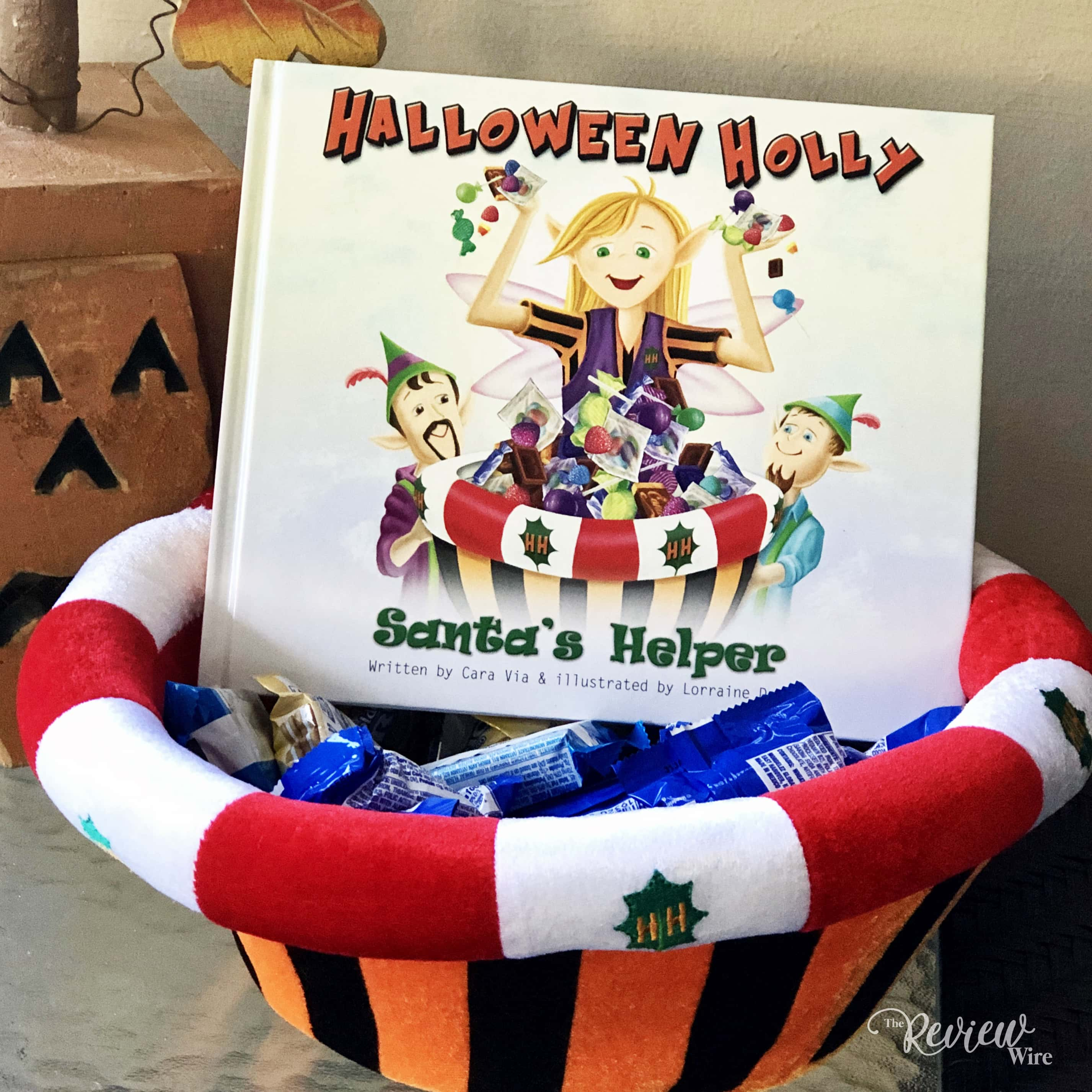 The Review Wire - Halloween Holly Santa's Helper Gift Set