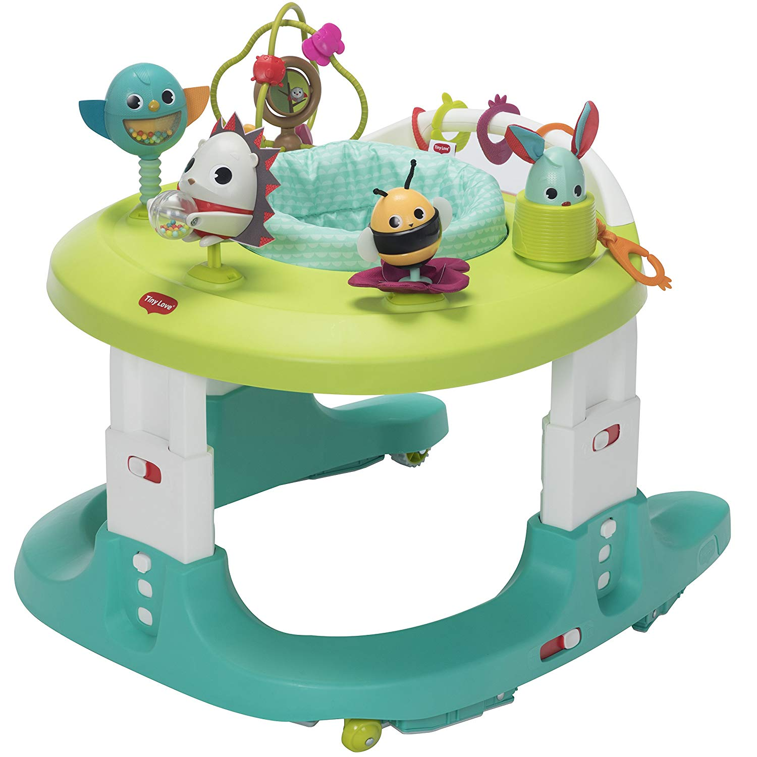 Tiny Love Black & White Here I Grow 4-in-1 Walker & Mobile Activity Center, Magical Tales