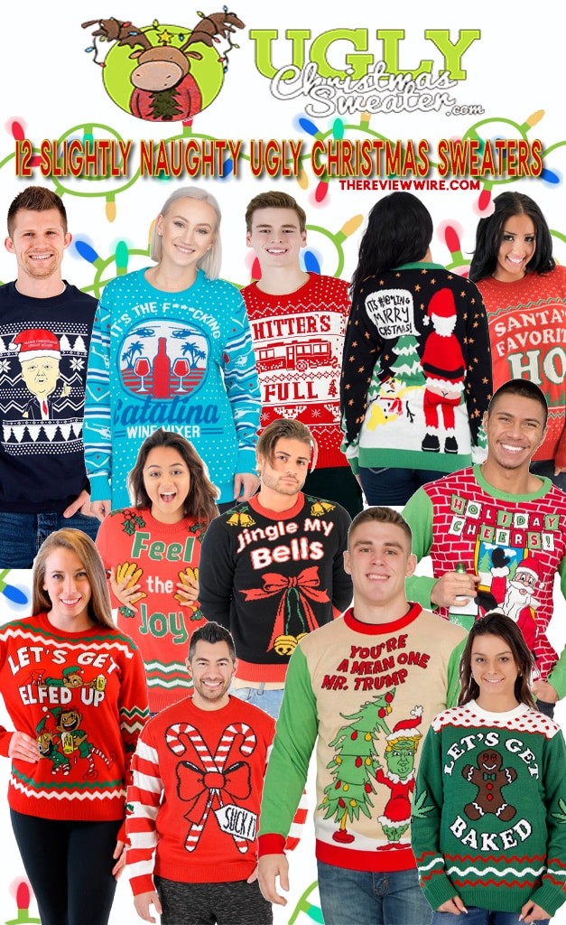 The Review Wire: 12 Slightly Naughty Ugly Christmas Sweaters