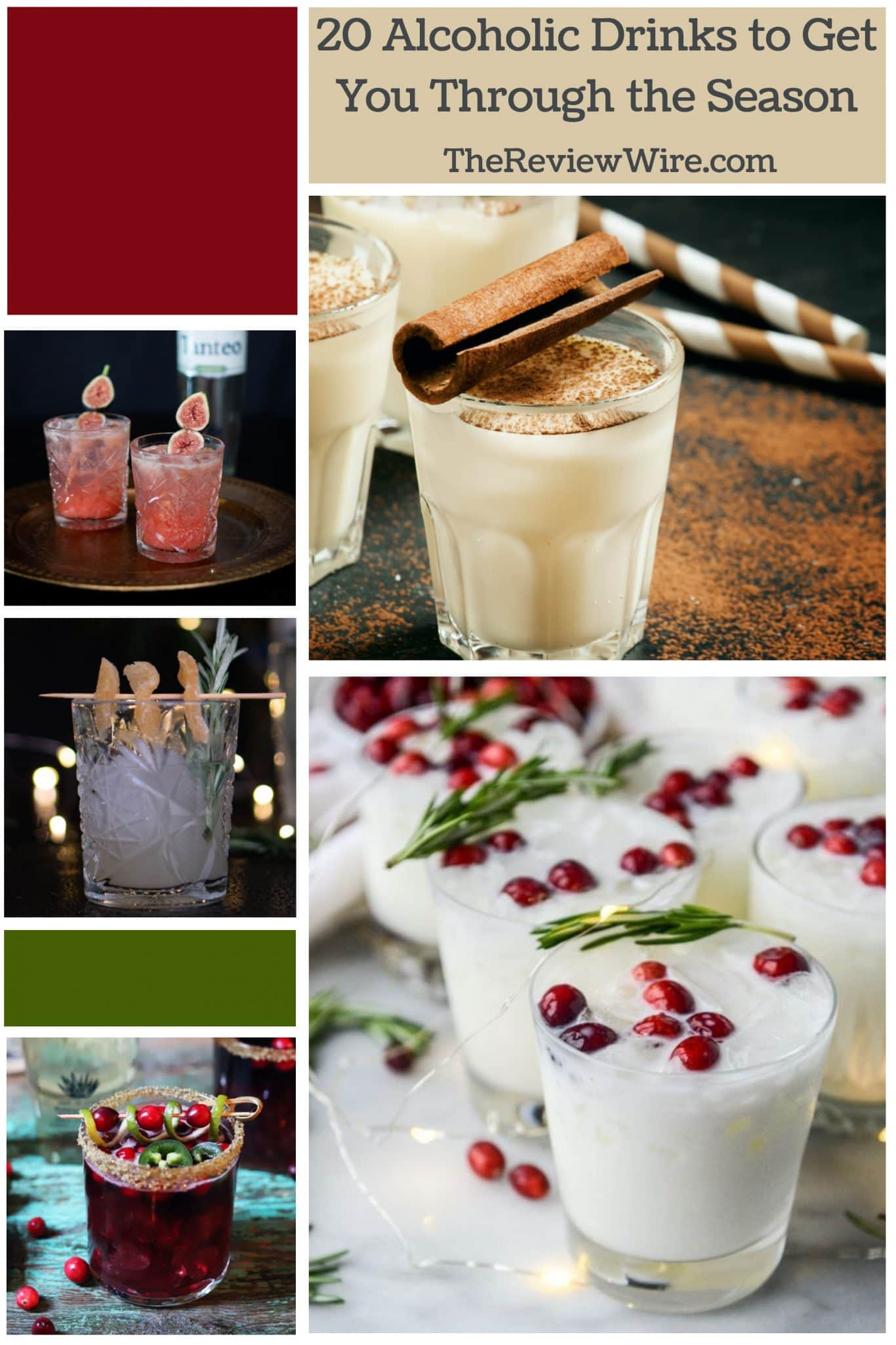 The Review Wire: 20 Alcoholic Drinks to Get You Through the Season