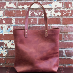 The Review Wire 2019 Holiday Gift Guide: Crazy Horse Leather Tote Bag