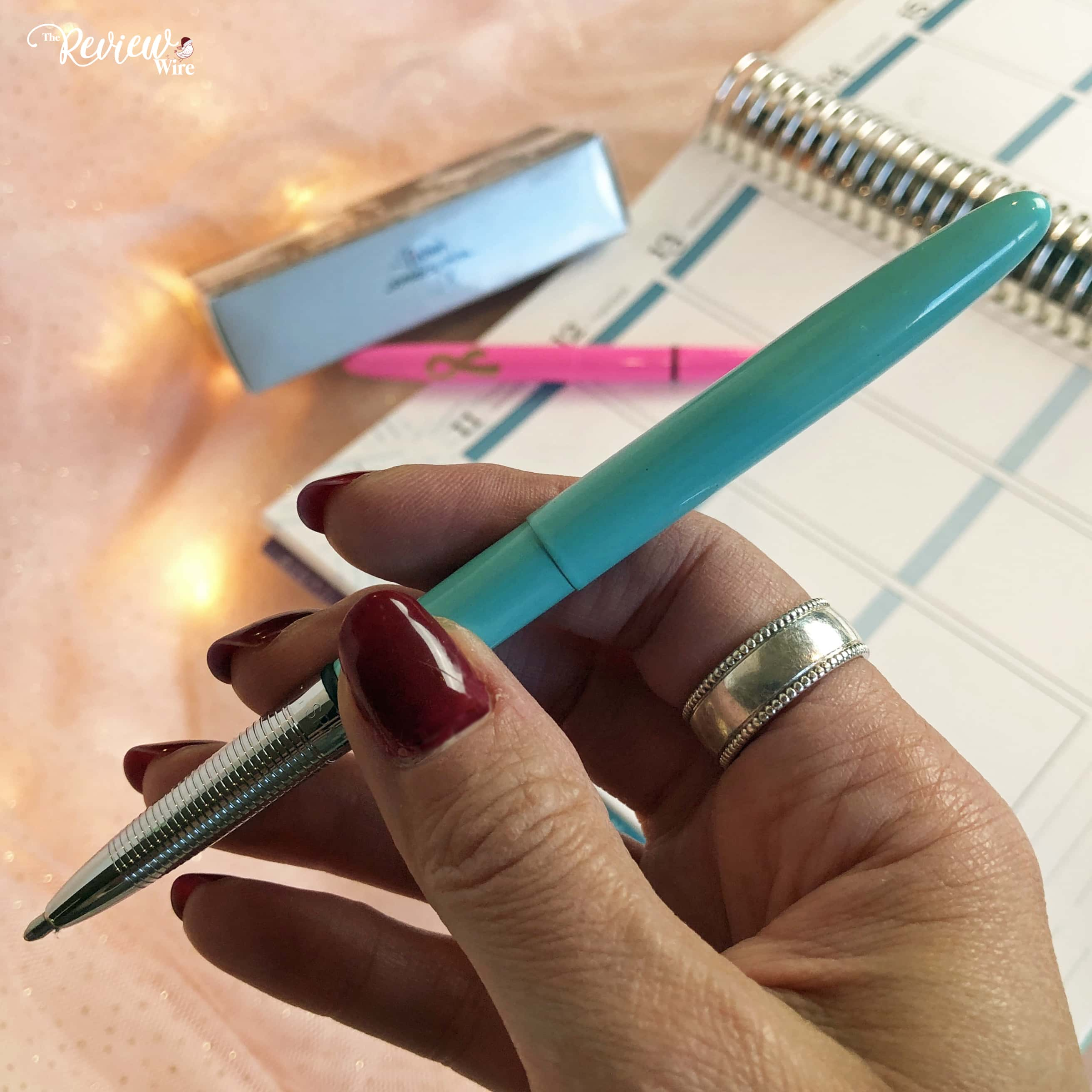 The Review Wire 2019 Holiday Gift Guide: Fisher Space Pen Tahitian Blue Bullet Space Pen