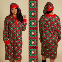 The Review Wire Holiday Gift Guide: Grandmas Quilty Please Night Gown & Cap