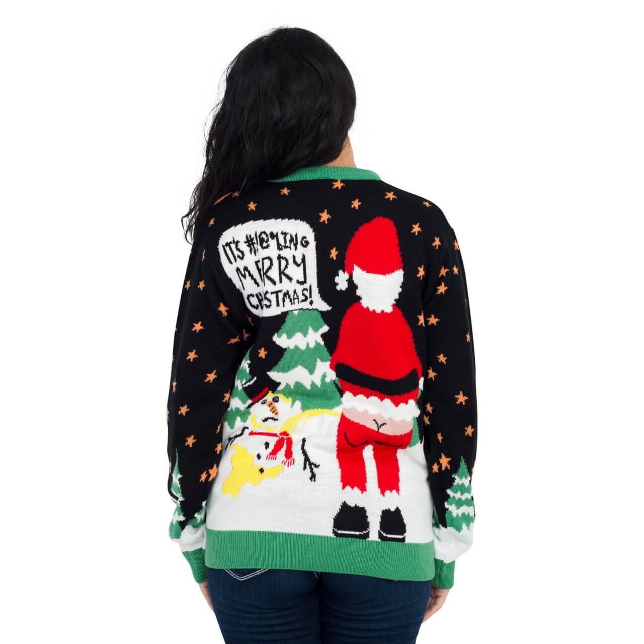 Ho Ho Ho It's #!@%ING Merry Ugly Christmas Sweater