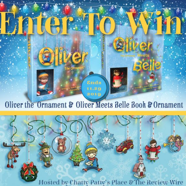 Oliver the Ornament Giveaway