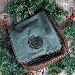 The Review Wire Holiday Gift Guide: RAWHYD Canvas & Leather Travel Toiletry Bag