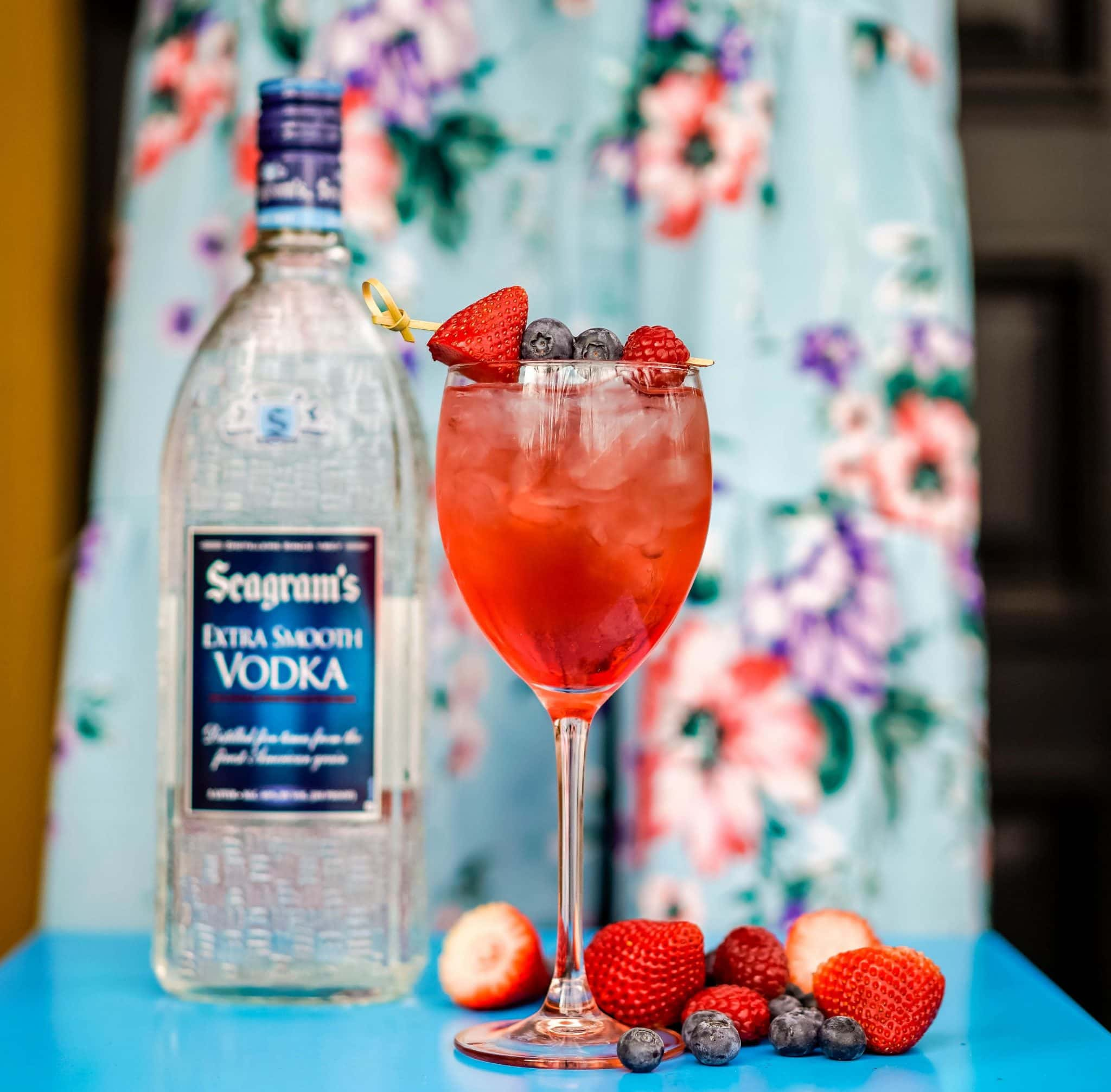 Seagram's Extra Smooth Berry Kombucha