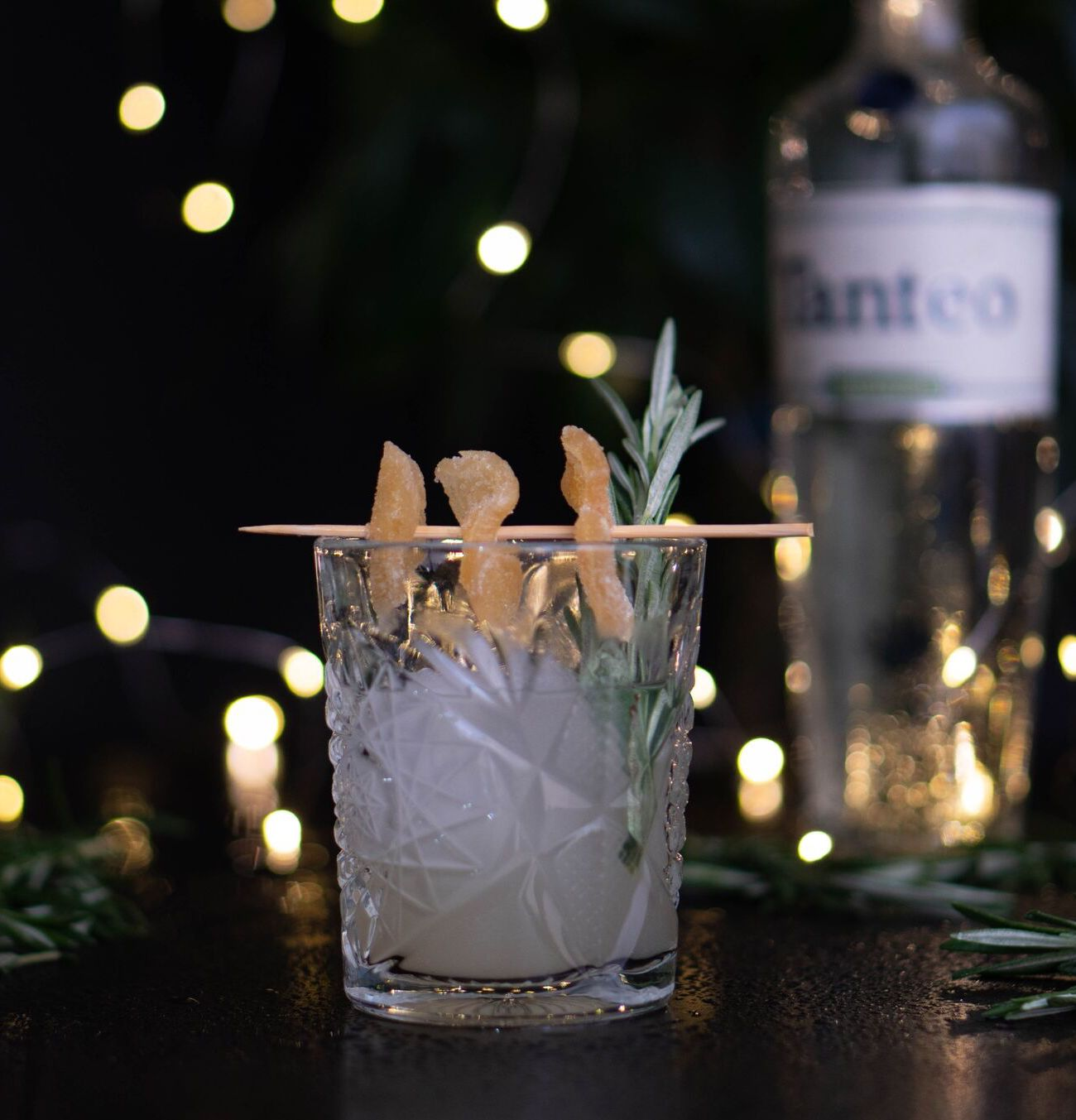 Tanteo Spicy Ginger Margarita