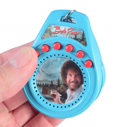 The Review Wire 2019 Holiday Gift Guide: World's Coolest Bob Ross Talking Keychain