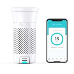 The Review Wire 2019 Holiday Gift Guide: Wynd Plus Smart Personal Air Purifier with Air Quality Sensor