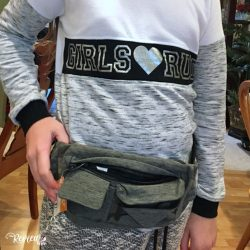 The Review Wire Holiday Gift Guide: 2-Pocket Gray Fanny Pack