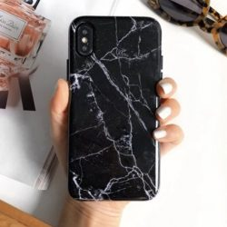 The Review Wire Holiday Gift Guide: Black Marble Samsung Case