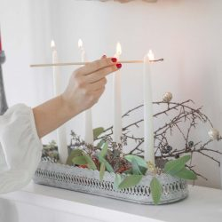 The Review Wire: Make it a Hygge Holiday with these Ideas for a Cozy Christmas - Candle Holder