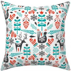 The Review Wire: Make it a Hygge Holiday with these Ideas for a Cozy Christmas - Christmas Folk Scandinavian Hygge Holiday Winter Print