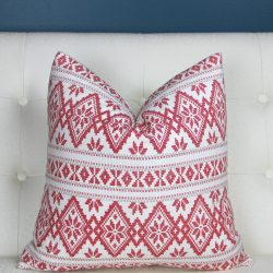 The Review Wire: Make it a Hygge Holiday with these Ideas for a Cozy Christmas - Christmas Pillow Cover