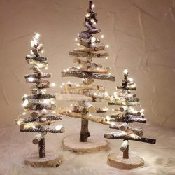 The Review Wire: Make it a Hygge Holiday with these Ideas for a Cozy Christmas - Fir Tree Birch with Lighting