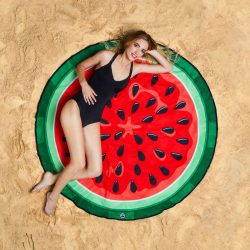 The Review Wire Holiday Gift Guide: Giant Watermelon Beach Blanket