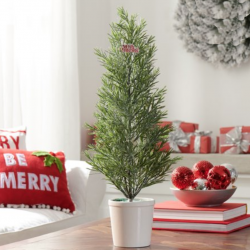 The Review Wire: Make it a Hygge Holiday with these Ideas for a Cozy Christmas - Holiday Time Rosemary Tree