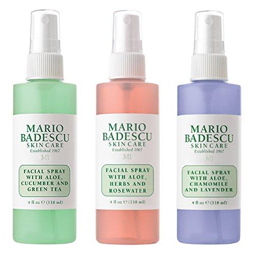 Mario Badescu Spritz Mist and Glow Facial Spray Collection