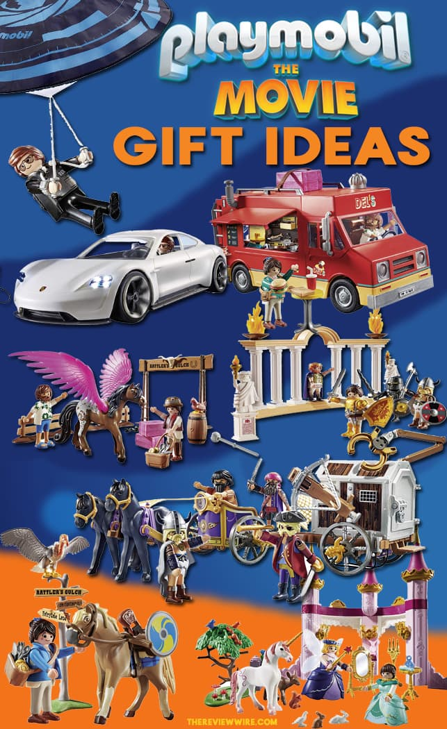 Playmobil The Movie Gift Ideas
