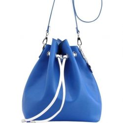 Sarah Jean Solid Bucket Handbag