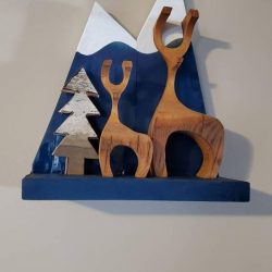 The Review Wire: Make it a Hygge Holiday with these Ideas for a Cozy Christmas - Scandinavian Christmas Deer Kit