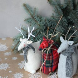 The Review Wire: Make it a Hygge Holiday with these Ideas for a Cozy Christmas - Scandinavian Christmas Deer