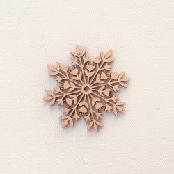 The Review Wire: Make it a Hygge Holiday with these Ideas for a Cozy Christmas - Scandinavian Snowflake Ornament