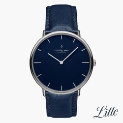 The Review Wire Holiday Guide 2019 Native Navy Blue Vegan Leather Watch