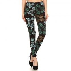 The Review Wire 2019 Holiday Gift Guide: Tropical Leaf Leggings