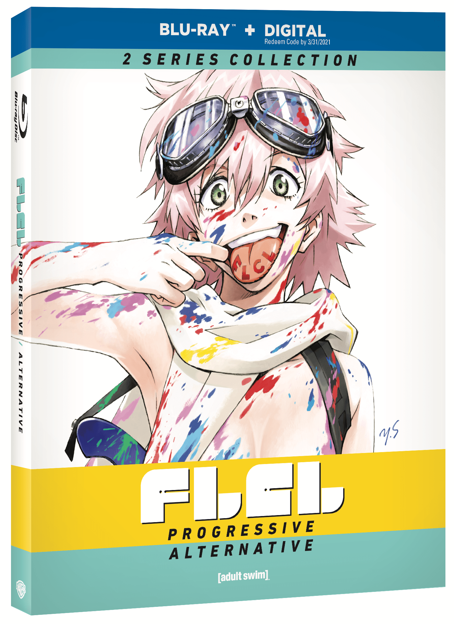 FLCL: Progressive and Alternative