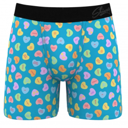 The Review Wire Valentine Guide: Smooth Talker Sweethearts V-Day Boxers