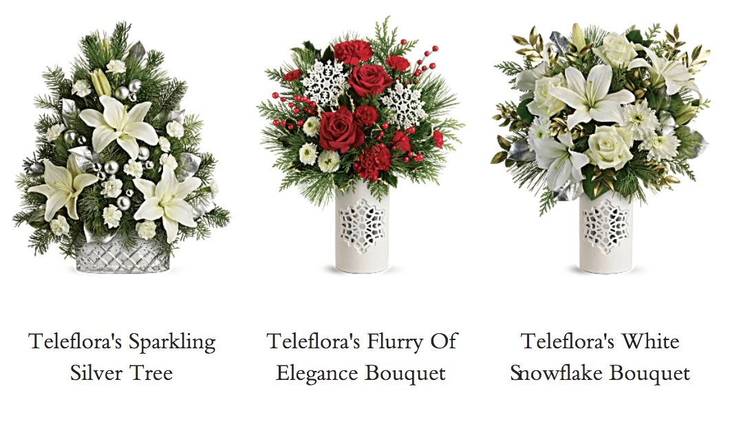 Teleflora's Winter Bouquets