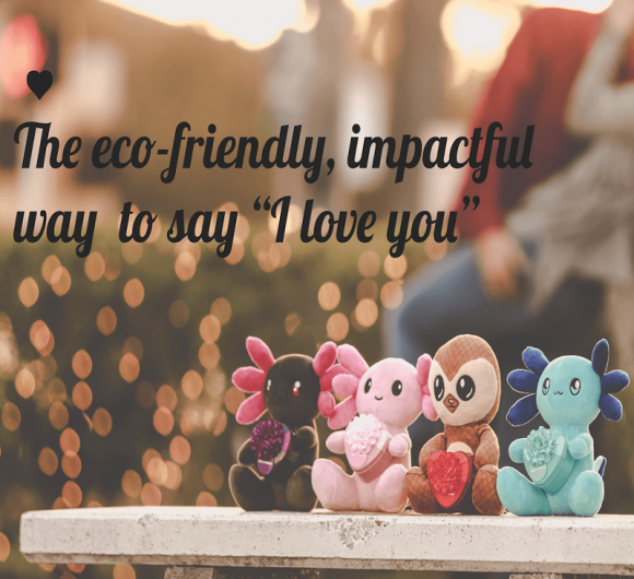"""The Review Wire: Axol & Friends - The Eco-Friendly PLUSH Way to Say, """"I love You"""""""