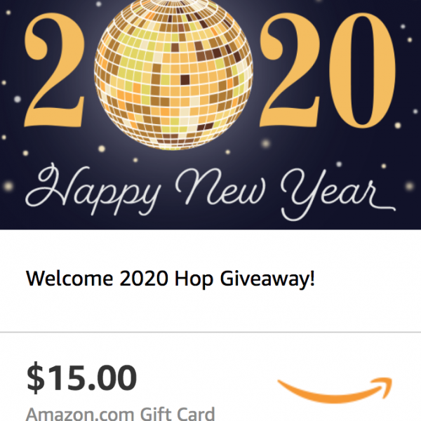 Welcome 2020 Hop - $15 Amazon eGift Card Giveaway