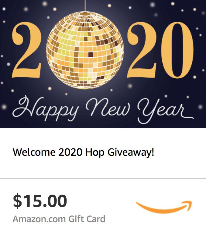 Welcome 2020 Hop - $15 Amazon eGift Card Giveaway