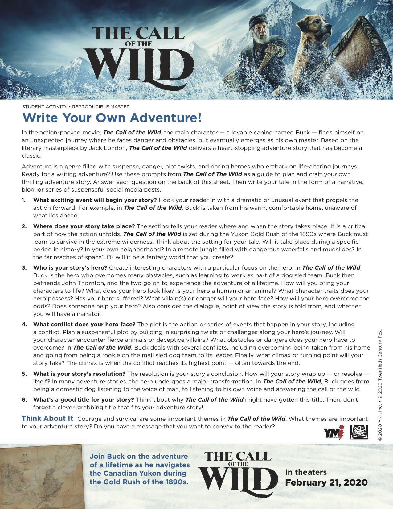 Call of the Wild_Student Activity copy