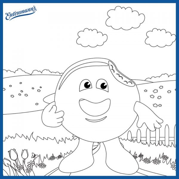 The Review Wire - Entenmann's Donut Coloring Page