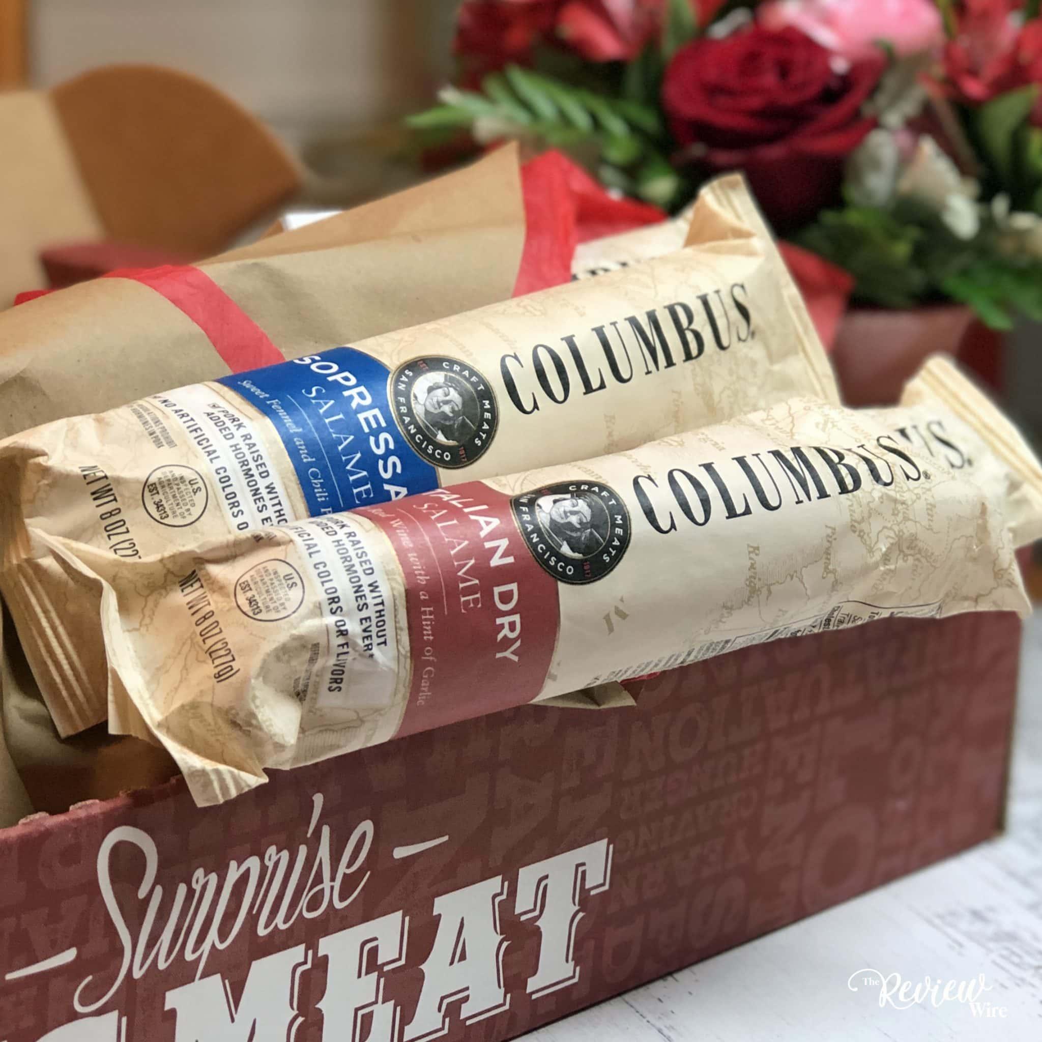 The Review Wire: Man Crates Salami Bouquet