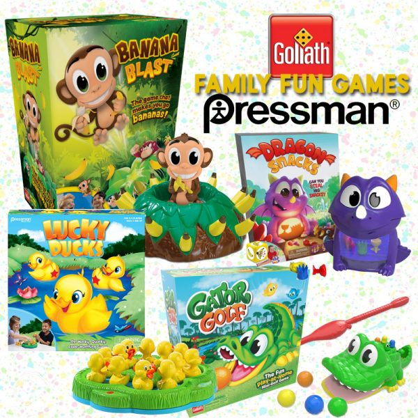 The Review Wire: Add Easter Basket Fun with Games from Goliath Games & Pressman Toy