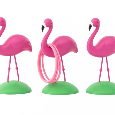 New for Spring Antsy Pants Ring Toss Games in Flamingo & Cactus Shapes