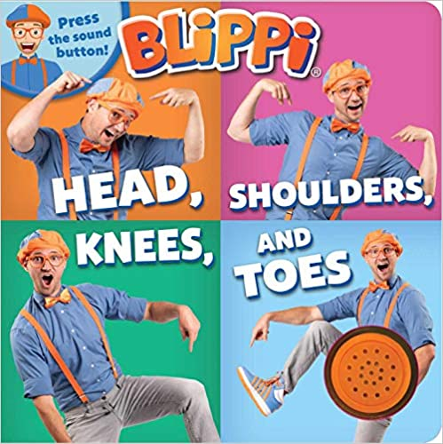 Blippi Head, Shoulders, Knees, and Toes