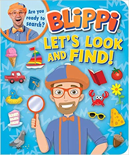 Blippi Let's Look and Find