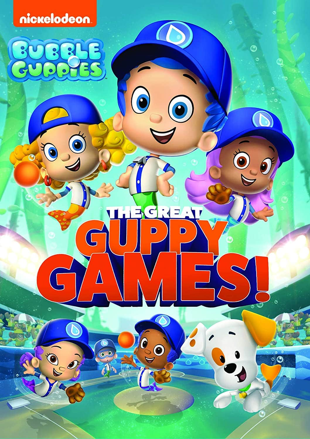 Get Ready For The Great Guppy Games Bubble Guppies Coloring Pages